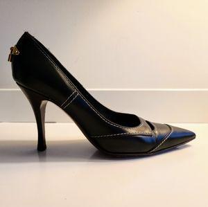 Louis Vuitton black pumps size 37